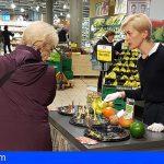 ASPROCAN y PROEXCA promocionan el plátano de canarias en el mercado suizo