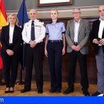 La Policía rumana participa un año más en Arona en el operativo especial de Navidad