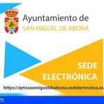 San Miguel lanza nuevo folleto sobre el uso de la sede electrónica para trámites administrativos