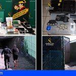 En Arona estaba situado el principal suministrador de drogas de una asociación criminal