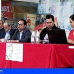 UGT Canarias presenta las nuevas guías de prevención de riesgos laborales y negociación colectiva 2019/2020
