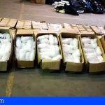 La Policía Nacional realiza la mayor incautación de metanfetamina de la historia de España