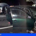 San Miguel | Dos heridos graves y uno moderado en una colisión frontal de dos turismos en la TF-65