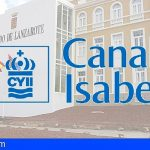 Confirmada la resolución que obliga a Lanzarote a informar sobre el contrato con el Canal Isabel II