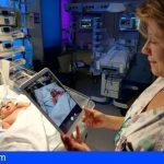 Los padres podrán ver por tablet a sus bebés ingresados en Neonatología del HUC