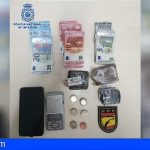Detenido en Santa Cruz de Tenerife mientras menudeaba con 256 g. de hachís