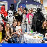 Los pequeños de La Candelaria y del HUC se divirtieron con los personajes de Star Wars