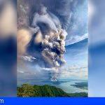 Involcan registró una señal de alerta temprana en la erupción del Taal de Filipinas