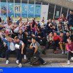 Un centenar de granadilleros visitaron el Parque Infantil de Tenerife