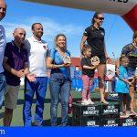 600 corredores se midieron en la carrera de obstáculos Mencey El Médano