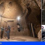 Gran Canaria inicia el montaje de la réplica de Risco Caído en Artenara