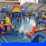 1.500 menores se dieron cita en el Parque Deportivo de Navidad de Granadilla