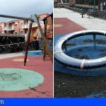 Ciudadanos denuncia el mal estado del parque infantil del Barranco Cha-Joaquina
