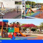 Finalizan las obras de acondicionamiento en los parques de Las Chafiras y Aldea Blanca
