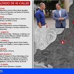 Arona alcanzará 200 calles, caminos y vías renovadas con su IV plan de asfaltado