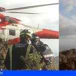 Arona   Rescatan a un hombre que intentó suicidarse en el barranco del Ancón