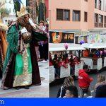 Los Reyes Magos inundan de magia e ilusión la Villa Histórica de Granadilla de Abona