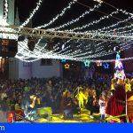Los Reyes Magos llegan a Guía de Isora arropados por más de 6.000 personas