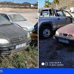 La problemática del vertedero de coches averiados y quemados en Guaza va a más