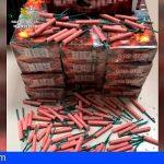 La Guardia Civil incauta más de 500.000 artificios pirotécnicos durante la campaña de Navidad