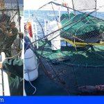 Tenerife | Intervienen una gran nasa ilegal en la costa de Punta del Hidalgo