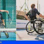 Adeje | Atletas Austriacos de tenis adaptado entrenaron en Tenerife Top Training