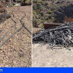 Gran Canaria recomienda sustituir las tuberías de polietileno para prevenir fuegos forestales