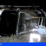 Tenerife | Liberada una persona tras volcar con su coche en Llano del Moro