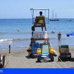 Granadilla aclara que «El servicio de salvamento de playas se está prestando con todas las garantías»