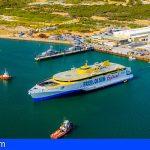 «Bajamar Express», el nuevo trimarán de Fred. Olsen, ya está navegando