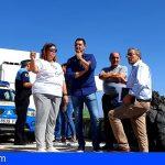 Una comisión bilateral Arico-Fasnia mejorará la calidad de vida del barrio de Las Ceras