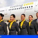Vueling convoca una jornada de selección en Tenerife para tripulantes de cabina