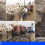 Las 70 personas evacuadas por el incendio en el barranco de Chayofa ya están en sus casas