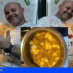 J. Santana | La cocina de José Barbuzano no engorda. Carne con papas