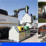 La nueva maquinaria de limpieza de Adeje, más eficiente y respetuosa con el medioambiente
