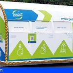 La Victoria, Fasnia y El Tanque ya cuentan con puntos limpios móviles