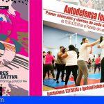 """Adeje abre el curso """"Autodefensa feminista"""" y el taller de Creación artística colectiva"""