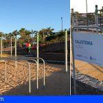 Alcalá y Playa San Juan cuentan con nuevos parques de calistenia