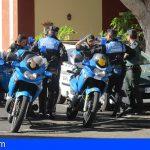Guía de Isora | La Policía detiene al presunto autor de varios robos en Guía casco