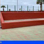 CC en Guía de Isora denuncia el pésimo estado del Polideportivo de Playa San Juan