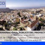 """Adeje acogerá el I Seminario Transnacional Público del proyecto """"SMART-ECO"""" el próximo 3 de marzo"""