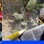Bomberos de Tenerife rescató a tres senderistas durante el fin de semana