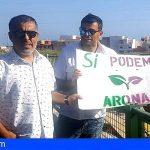 Sí Podemos Arona: «Defendemos nuestros valores, no la conveniencia coyuntural»
