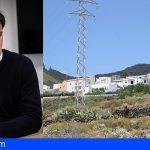Santiago del Teide rechaza la instalación de 23 torretas para la nueva línea eléctrica
