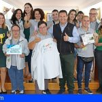 Arona | El equipo con diversidad funcional «Transforlego» llega a la cima de la First Lego League