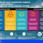 Canarias | Recomendaciones para pasar unas vacaciones seguras