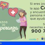 Canarias lanza una App que permite unir voluntarios y mayores con necesidades