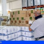El banco de alimentos de Arona comienza a repartir los víveres casa por casa