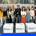 Los jóvenes del programa Becas África ya están en Tenerife
