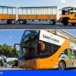 56.693 personas usaron la guagua y el tren turístico para conocer Santa Cruz en 2019